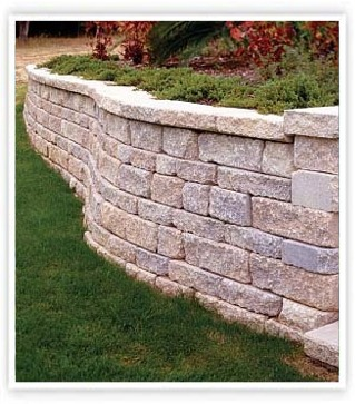 Stone Wall Installation - Southbury, CT